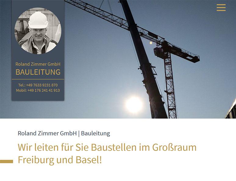 webdesign und grafik birke | glaser, bollschweil bei freiburg, referenz website-erstellung: bauleitung roland-zimmer-gmbh