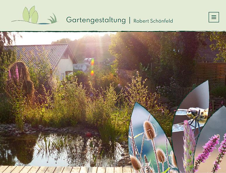 webdesign und grafik birke | glaser, bollschweil bei freiburg, referenz website-erstellung: gartengestaltung robert schönfeld